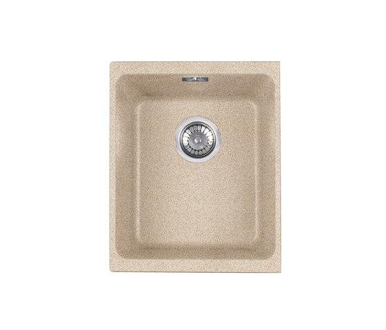 Kubus Sink KBG 210-37 Fragranite + Magnolia by Franke Kitchen Systems | Kitchen sinks