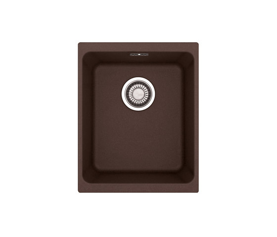 Kubus Sink KBG 210-37 Fragranite + Chocolate by Franke Kitchen Systems | Kitchen sinks