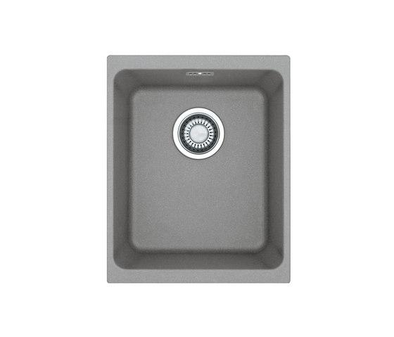 Kubus Sink KBG 210-37 Fragranite + Stone Grey by Franke Kitchen Systems | Kitchen sinks