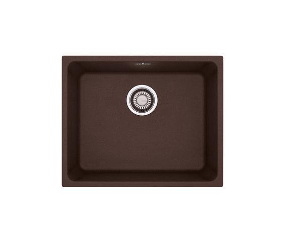 Kubus Sink KBG 210-53 Fragranite + Chocolate by Franke Kitchen Systems | Kitchen sinks