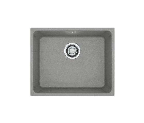 Kubus Sink KBG 210-53 Fragranite + Stone Grey by Franke Kitchen Systems | Kitchen sinks