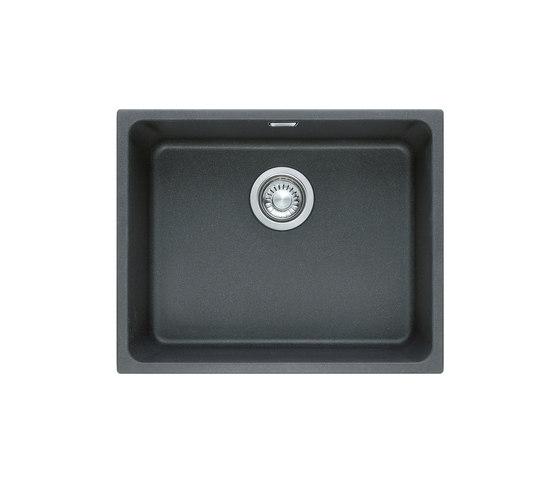 Kubus Sink KBG 210-53 Fragranite + Graphit by Franke Kitchen Systems | Kitchen sinks