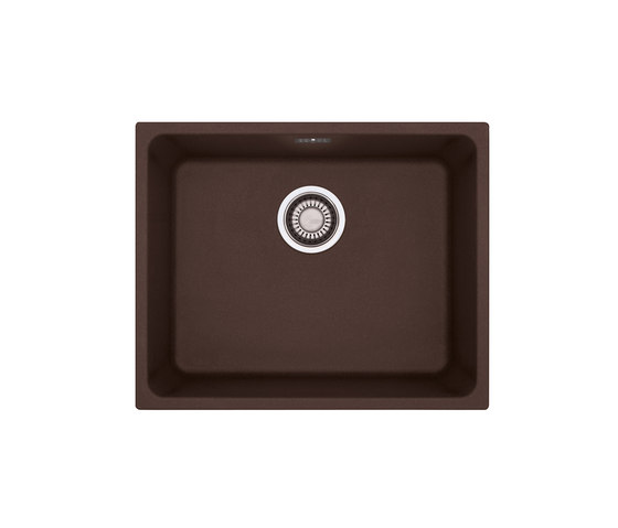 Kubus Sink KBG 110 50 Fragranit + Chocolate by Franke Home Solutions | Kitchen sinks