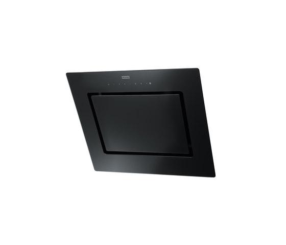 Mythos Hood FMY 606 BK Glass Black by Franke Kitchen Systems | Kitchen hoods