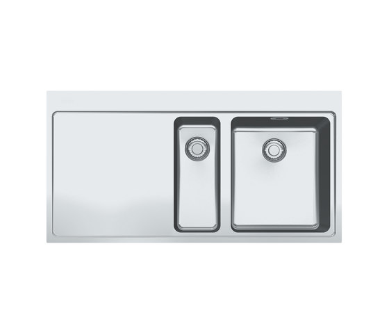 Mythos Sink MMX 251 Stainless Steel by Franke Kitchen Systems | Kitchen sinks