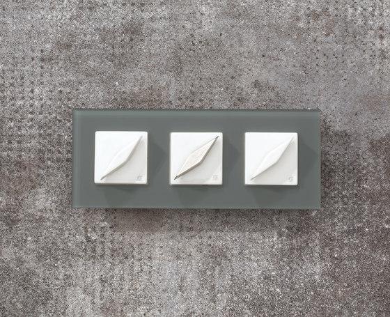 Arreda square⎟3 switches by Gi Gambarelli | Rotary switches