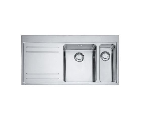 Mythos Sink MTX 261 Stainless Steel by Franke Kitchen Systems | Kitchen sinks