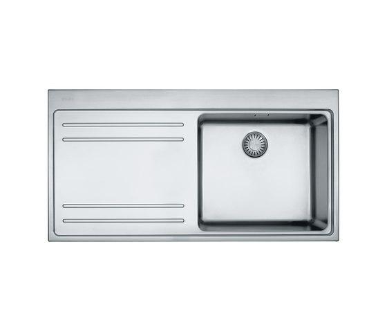 Mythos Sink MTX 211 Stainless Steel by Franke Kitchen Systems | Kitchen sinks