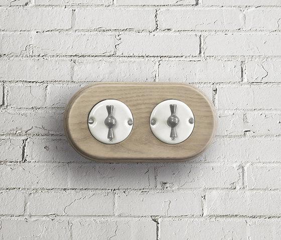 Arreda round⎟double switch by Gi Gambarelli | Rotary switches