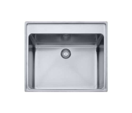 Mythos Sink MTX 210/610 55 Stainless Steel by Franke Kitchen Systems | Kitchen sinks