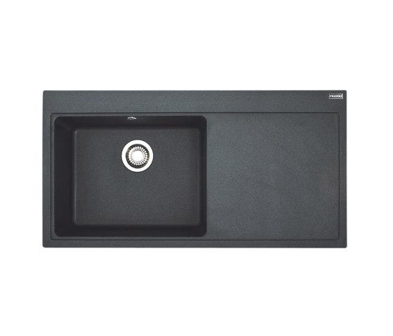 Mythos Sink MTG 611 Fragranit + Graphit by Franke Kitchen Systems | Kitchen sinks