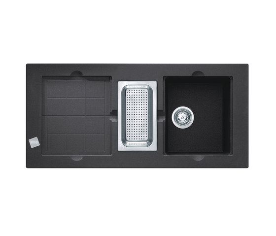 Mythos Sink MTG 651 Fragranit + Onyx by Franke Kitchen Systems | Kitchen sinks
