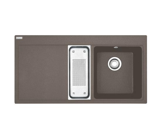 Mythos Sink MTG 651-100 Fragranit + Umbra by Franke Home Solutions | Kitchen sinks