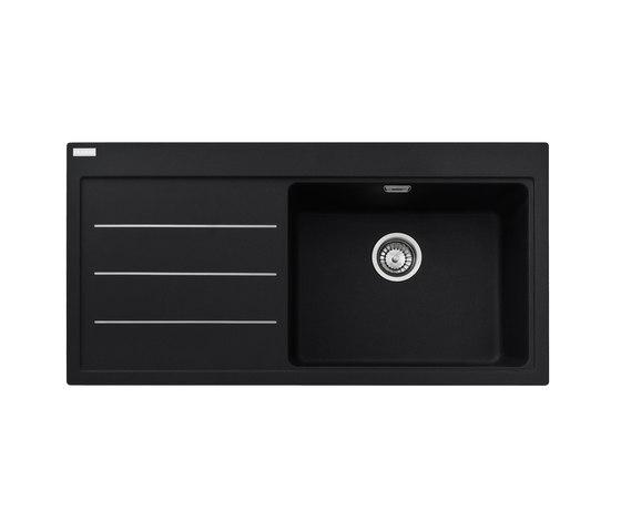 Mythos Sink Fusion MTF 611-100 Fragranit + Onyx by Franke Kitchen Systems | Kitchen sinks