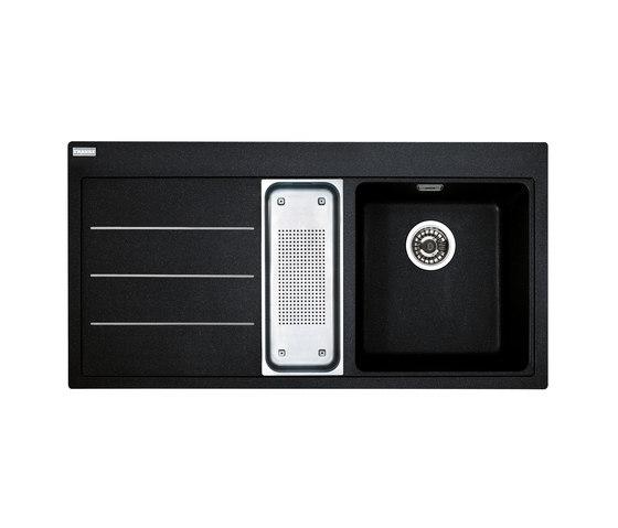 Mythos Sink Fusion MTF 651-100 Fragranit + Onyx by Franke Kitchen Systems | Kitchen sinks