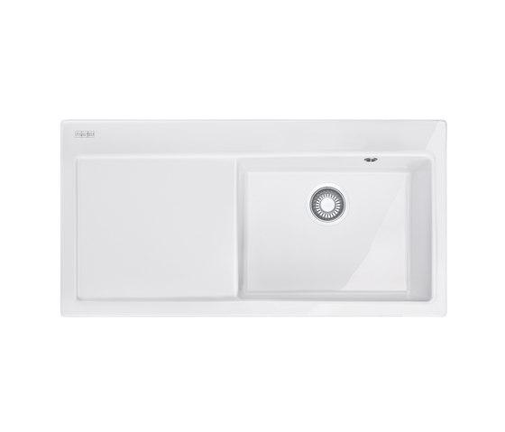 Mythos Sink MTK 611-100 Ceramic Glacier by Franke Home Solutions | Kitchen sinks