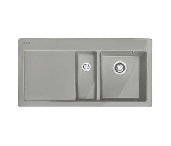 Mythos Sink MTK 651-100 Ceramic Perlgrau Matt by Franke Kitchen Systems | Kitchen sinks