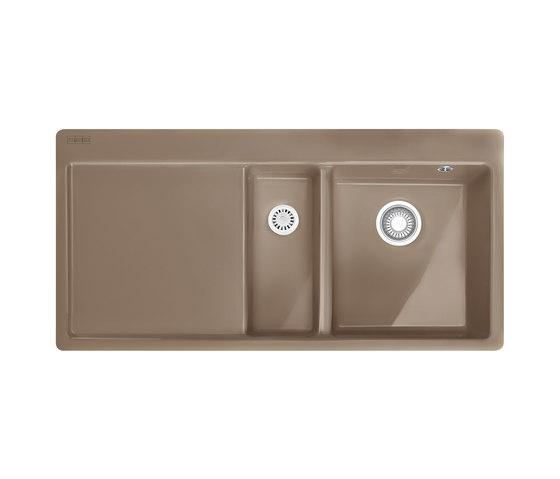 Mythos Sink MTK 251-100 Ceramic Cashmere by Franke Kitchen Systems   Kitchen sinks