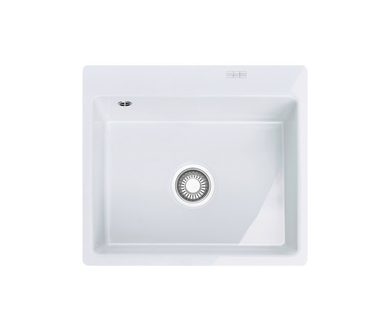 Mythos Sink MTK 210-58 Ceramic Glacier by Franke Home Solutions | Kitchen sinks