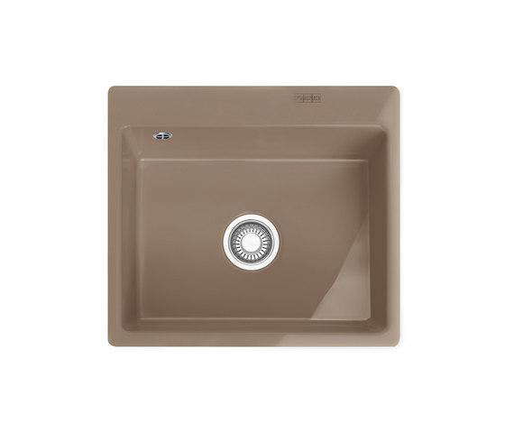 Mythos Sink MTK 210-58 Ceramic Cashmere by Franke Kitchen Systems | Kitchen sinks