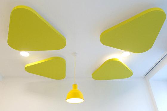 Plano de pinta acoustic | Falsos techos