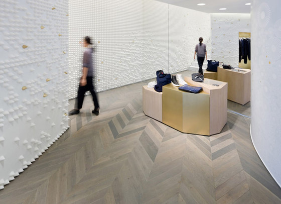 Pyramide by pinta acoustic | Sound absorbing wall systems