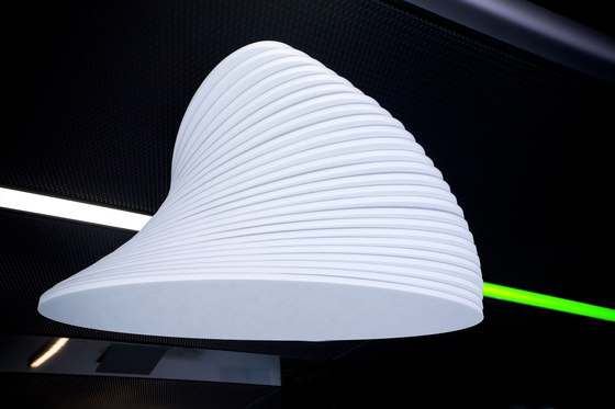 Torso by pinta acoustic | Illuminated ceiling systems