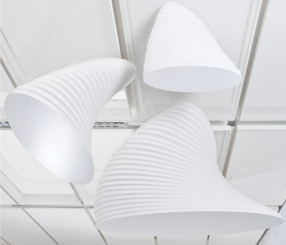 Torso Family by pinta acoustic | Illuminated ceiling systems