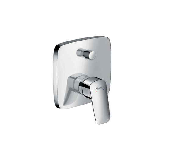 hansgrohe Logis Single lever bath mixer for concealed installation with security combination by Hansgrohe | Bath taps