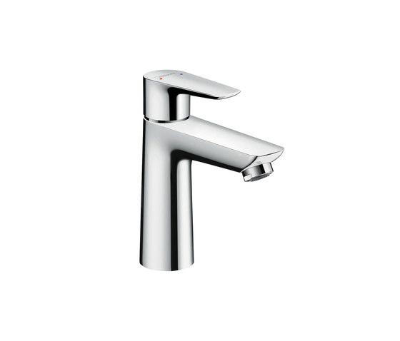 hansgrohe Talis E Mezclador monomando de lavabo 110 con vaciador Push-Open de Hansgrohe   Grifería para lavabos