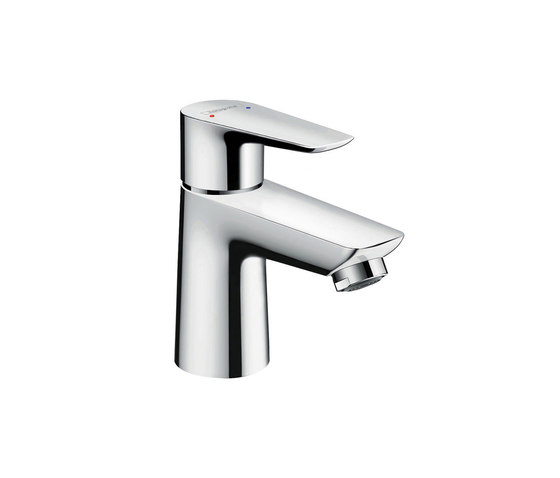 hansgrohe Talis E Single lever basin mixer 80 without waste set by Hansgrohe | Wash basin taps