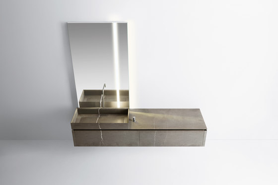 Puro 105 by Milldue   Wash basins