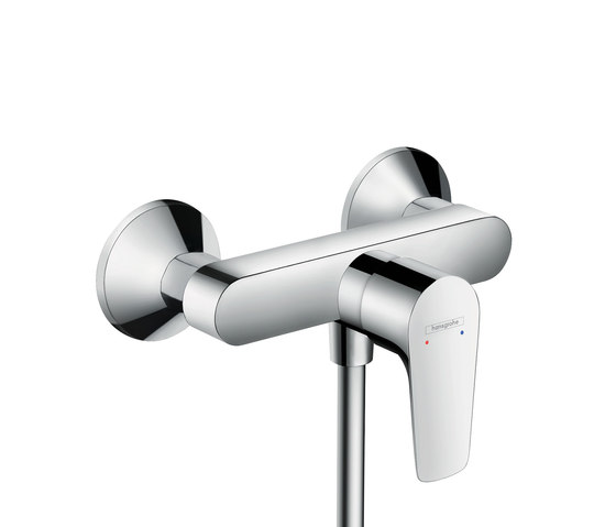 Hansgrohe Talis E Single lever shower mixer for exposed installation CH by Hansgrohe | Shower taps / mixers