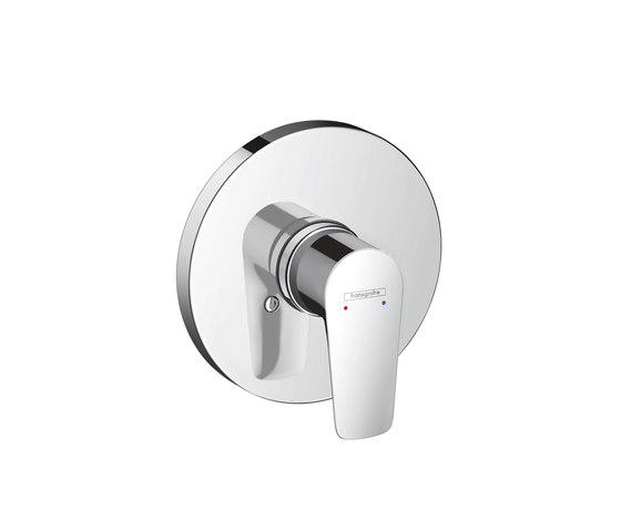 Hansgrohe Talis E Single lever shower mixer for concealed installation by Hansgrohe | Shower taps / mixers