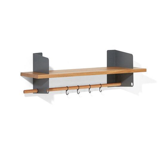 Atelier coat-rack |shelving | 1000 mm by Lampert | Built-in wardrobes