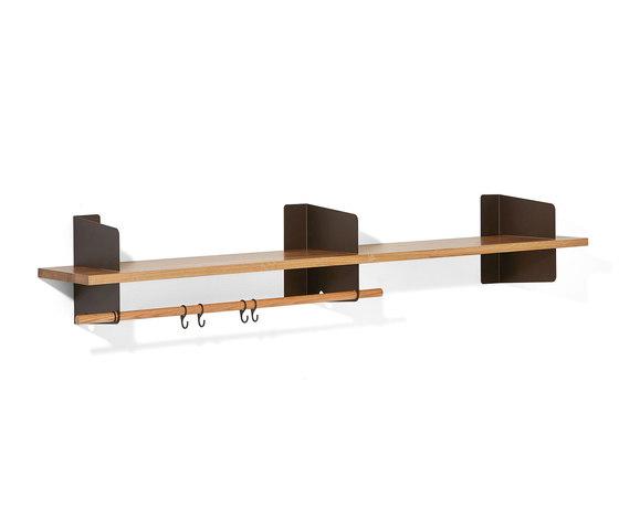 Atelier coat-rack  shelving   1600 mm by Richard Lampert   Built-in wardrobes
