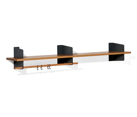 Atelier coat-rack |shelving | 2000 mm by Richard Lampert | Built-in wardrobes
