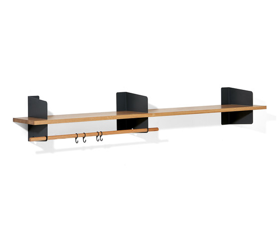 Atelier coat-rack |shelving | 2000 mm by Lampert | Built-in wardrobes