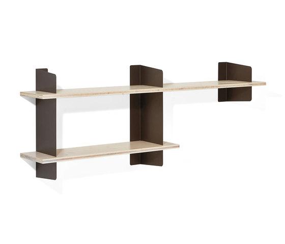 Atelier shelving | 1600 + 1000 mm di Richard Lampert | Sistemi scaffale ufficio