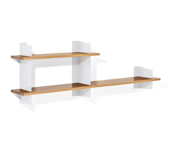 Atelier shelving | 2000 + 1000 mm by Lampert | Office shelving systems