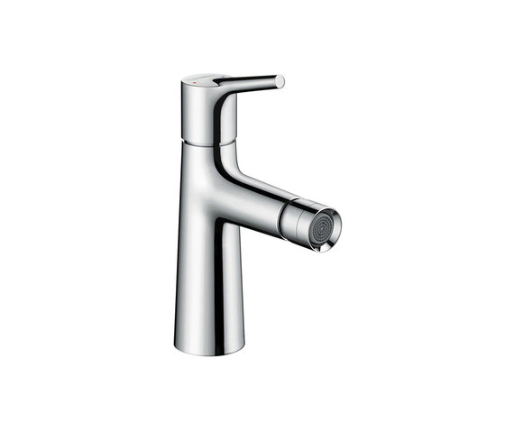 hansgrohe Talis S Single lever bidet mixer with pop-up waste set by Hansgrohe | Bidet taps