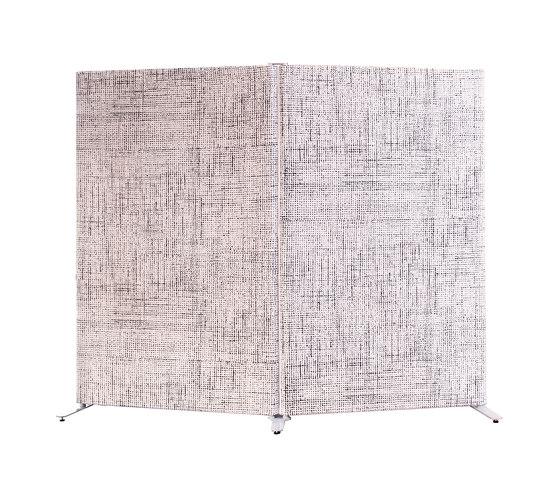 Kurage Floor Screen System 50 | Rounded | Checks de Kurage | Separación de ambientes