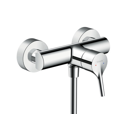 Hansgrohe Talis S Single lever shower mixer for exposed installation by Hansgrohe | Shower taps / mixers