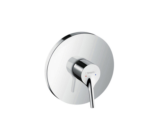 hansgrohe Talis S Single lever shower mixer highflow for concealed installation by Hansgrohe | Shower taps / mixers