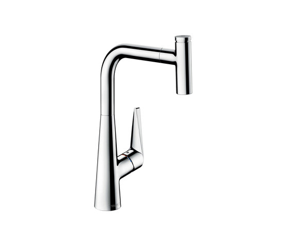 hansgrohe Talis Select S Single lever kitchen mixer 300 with pull-out spout by Hansgrohe | Kitchen taps