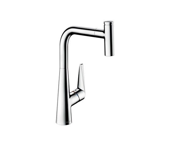 hansgrohe Talis Select S Mezclador monomando de cocina con ducha extraíble de Hansgrohe | Griferías de cocina