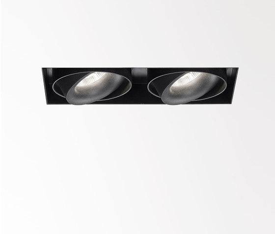 Minigrid In Trimless SI | Minigrid In Trimless 2 Frame + 2 x Minigrid Snap-In Reo 82733 by Delta Light | Ceiling lights