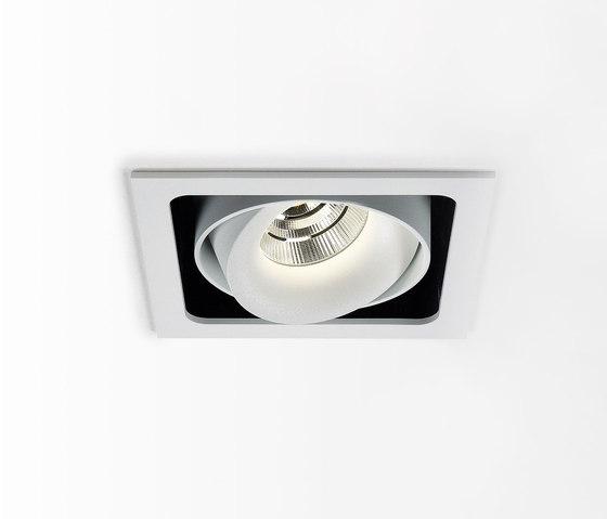 Minigrid In SI | Minigrid In 1 Frame + Minigrid Snap-In Reo 83018 by Delta Light | Ceiling lights