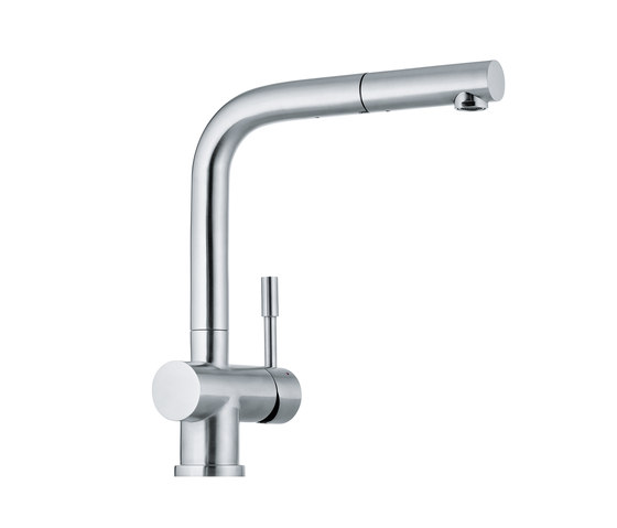 Atlas Pull Out Nozzle Stainless Steel by Franke Kitchen Systems | Kitchen taps