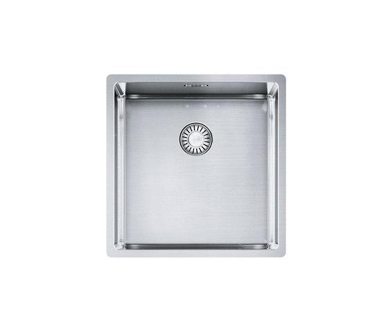 Franke Box Sink BXX 110-40/ BXX 210-40 Stainless Steel by Franke Kitchen Systems | Kitchen sinks
